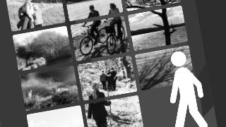 Vandrestier og cykelruter